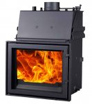 The Forge Alderton 15kw Inset Boiler Wood Burning Stove