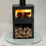 Westfire Series Two 7.1kw Pedastal Wood Burning Stove
