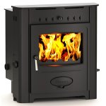 Hamlet Solution 12kw Multifuel Wood Burning Inset Boiler Stove