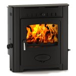 Hamlet Solution 9kw Multifuel Wood Burning Inset Boiler Stove