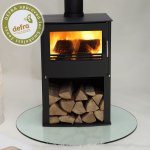 Westfire Series Two 7.1kw Pedastal Defra Approved Stove