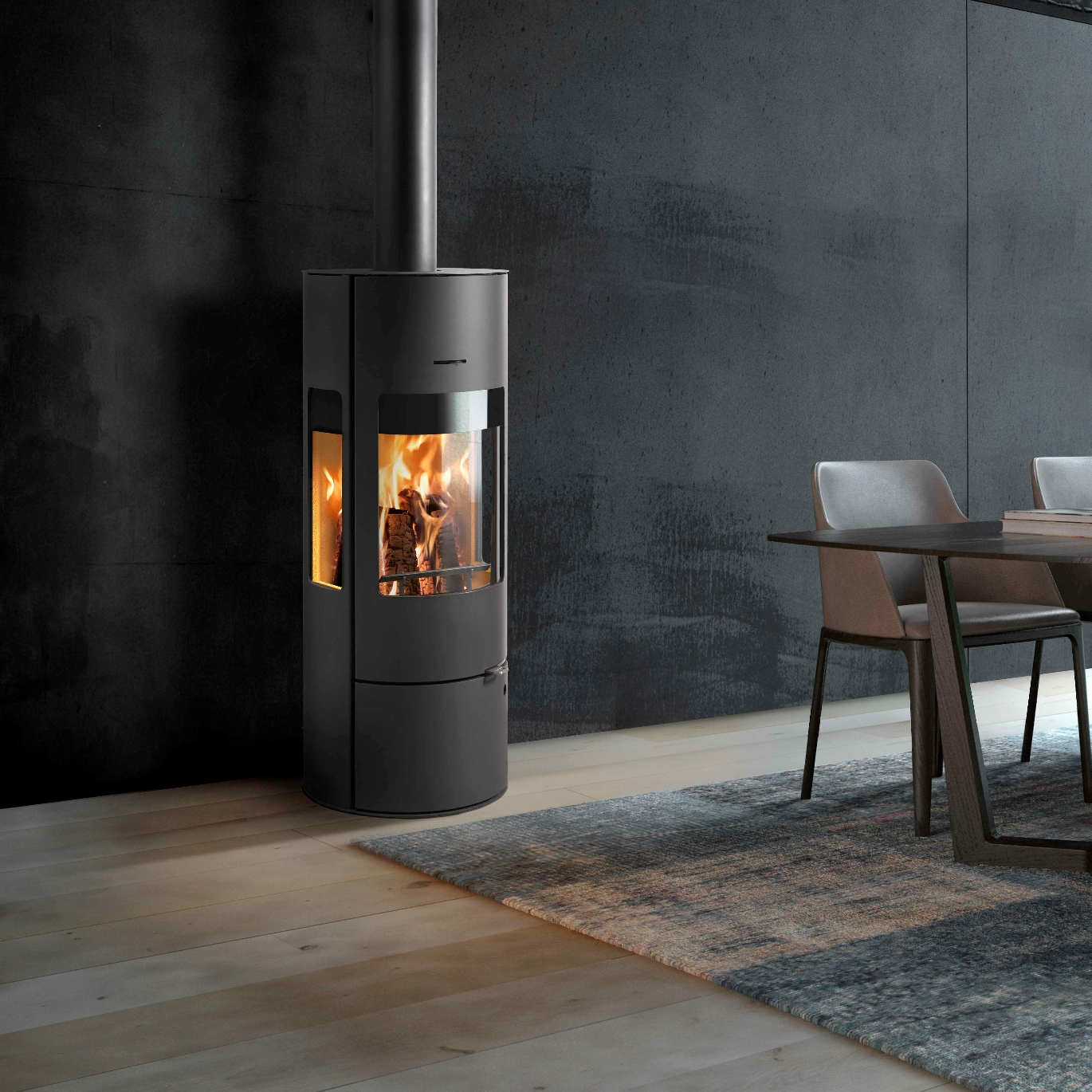 Westfire Uniq 37 7.2kw Large Defra Wood Burning Convection Stove