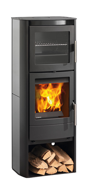 Lohberger Bake Me 6kw Wood Burning Stove With Baking Section