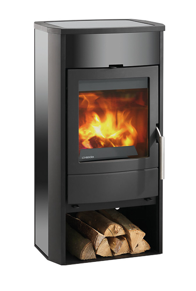 Lohberger Cook Me 7kw Wood Burning Stove With Ceramic Cooking Plate