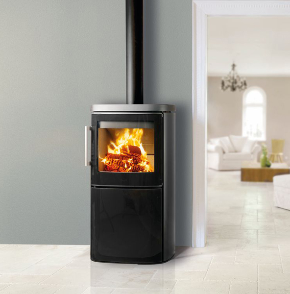 Hwam 4640 8kw Wood Burning Stove With Glass Door