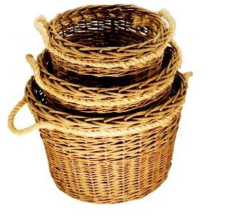 Log Basket Set