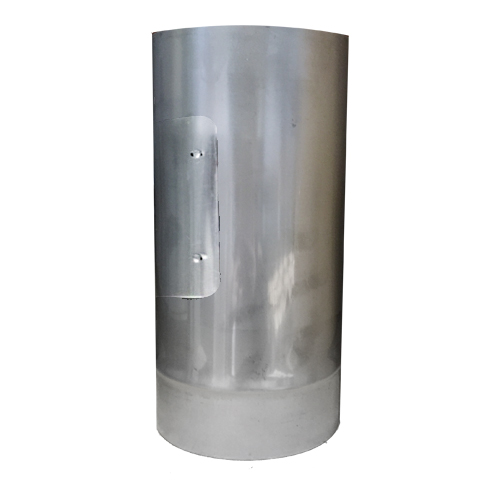 5  (125mm) Stainless Steel 250mm Pipe With Door  sc 1 st  Glowing Embers & 5 Inch Stainless Steel Flue Pipe Single Wall 316 Grade Steel Pipe