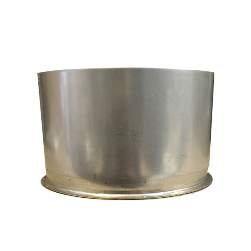 "8"" (200mm) Stainless Steel Tee Cap"