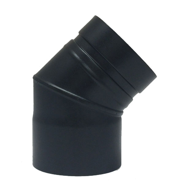 "45 Elbow - Pellet Pipe 4"" (100mm)"
