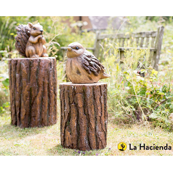 La Hacienda Woodland Range - Log (Set Of 2)