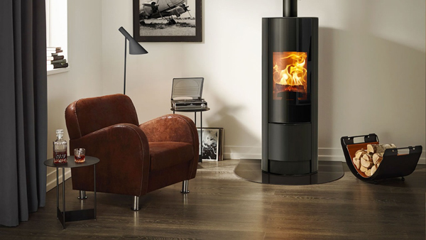 Rika Swing 8kw Wood Burning Stove With Rikatronic 4