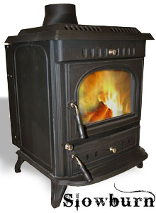 The Slowburn Aidan 12kw Cast Iron Boiler Stove