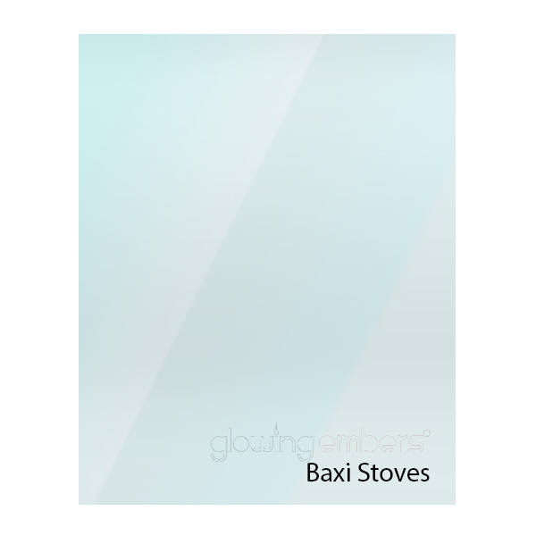 Baxi Replacement Stove Glass - Various Models
