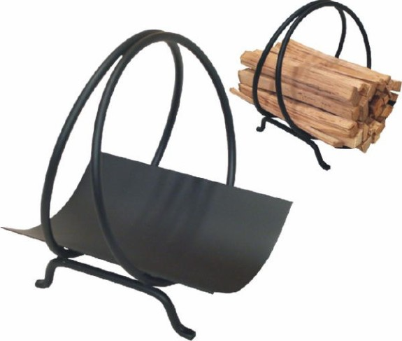 Kindling Holder, Ring - Black