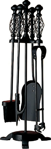 Companion Set All Black, Spiral