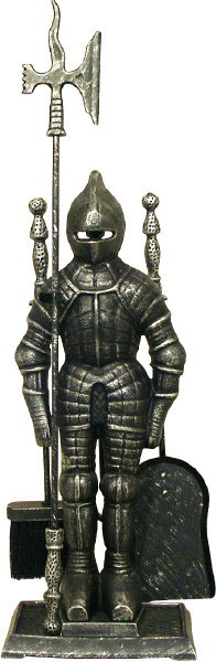 Companion Set Silver Black Knight