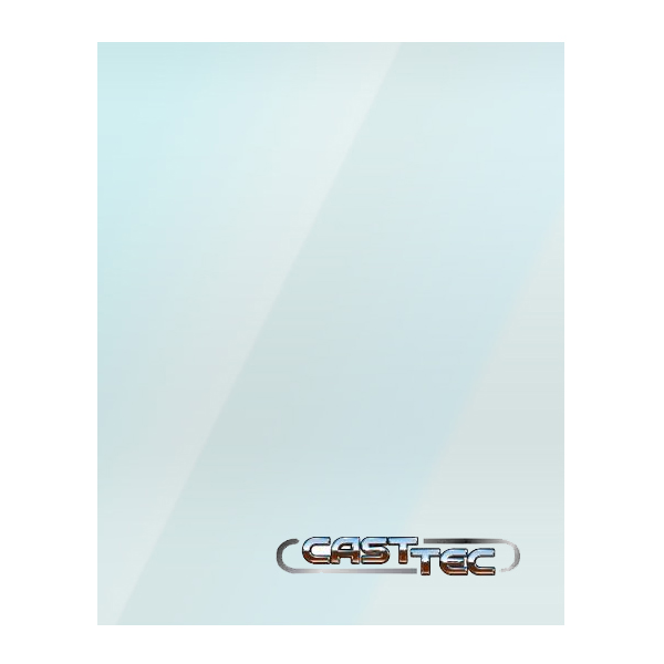 Castec Replacement Stove Glass - Various Models
