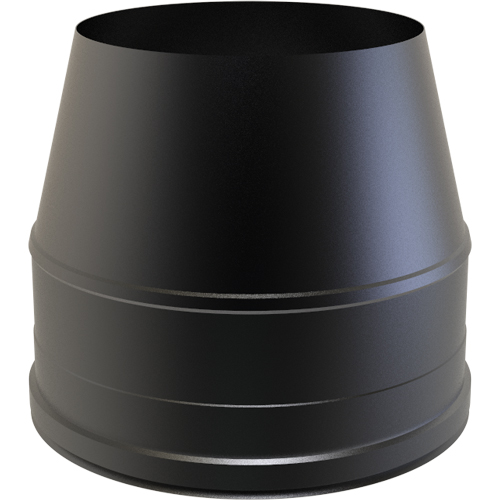 7 Inch Convesa KC Cone Top Cowl - Black