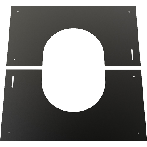 7 Inch Convesa KC 0-30 Degree Finishing Plate - Black