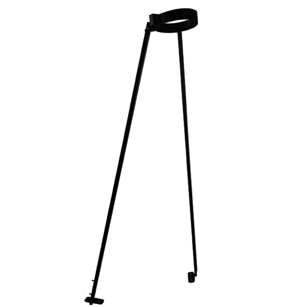 "5"" (125mm) Telescopic Roof Support - Black"