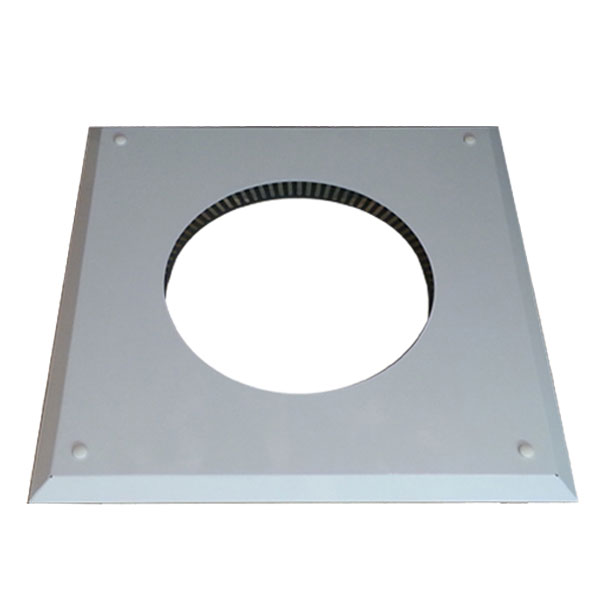 8 Inch Convesa KC Firestop Cover Plate - White