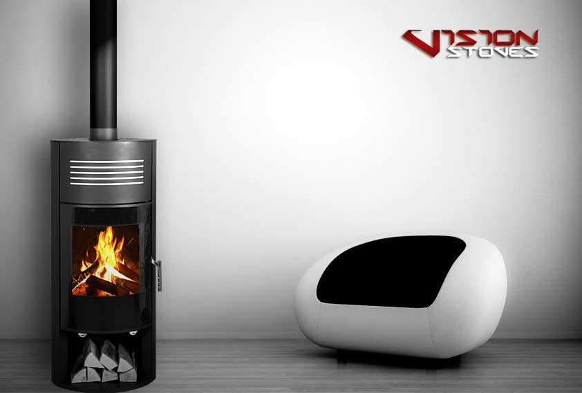 Vison D5 Designer Wood Burning Stove - 8.5kw