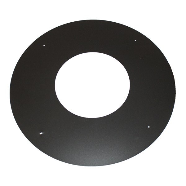 "6"" (150mm) Trim Collar Sflue Black"