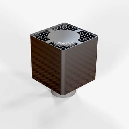 "5"" Flue Cube For Twin Wall Systems"