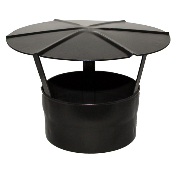 "6"" (150mm) Vitreous Enamelled Rain Cap"