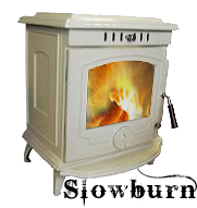 The Slowburn Gabriel 6kw Enamelled Multifuel Wood Burner