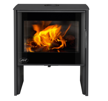 Aga Hanwood 9kw Defra Approved Wood Burning Stove - Graphite
