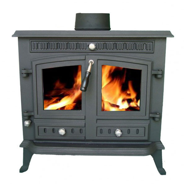 12kw Cast Iron Wood Stove / Multifuel Burner - Slowburn Z9
