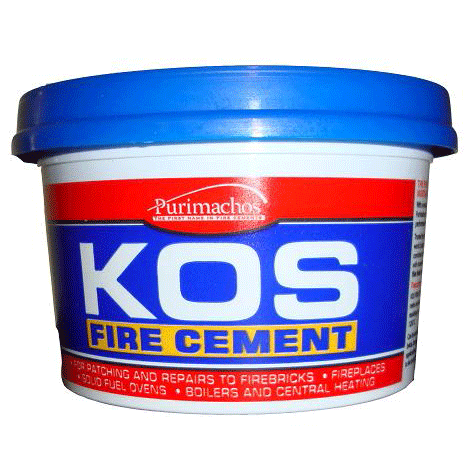 Kos Fire Cement Black - 500g, 1kg, 2kg