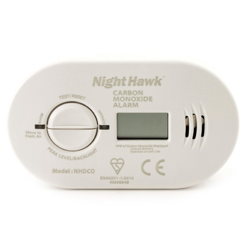Kidde Night Hawk Carbon Monoxide Alarm With Digital Display