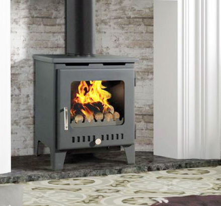 Rofer & Rodi Merida 8kw Multifuel Wood Burning Stove - Anthracite