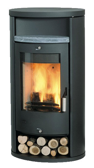 Contemporary Stove - 8kw Home Wood Alicante Classic