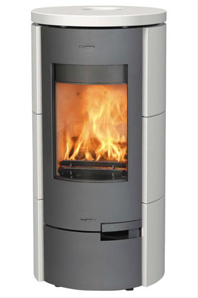 Contemporary Log Burning Stove - 7kw Home Wood Venus Ceramic