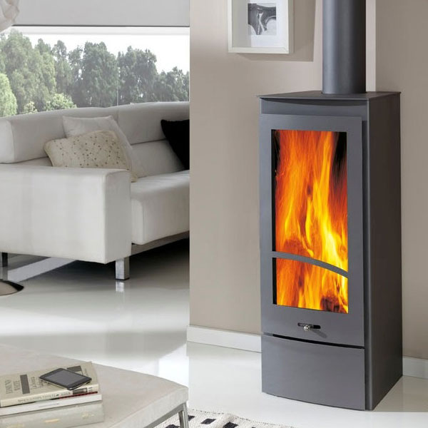large wood burning stoves 10kw 15 kw out power log burners. Black Bedroom Furniture Sets. Home Design Ideas