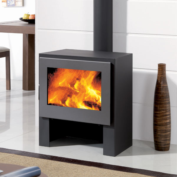 panadero boston 11kw contemporary wood burning stove. Black Bedroom Furniture Sets. Home Design Ideas