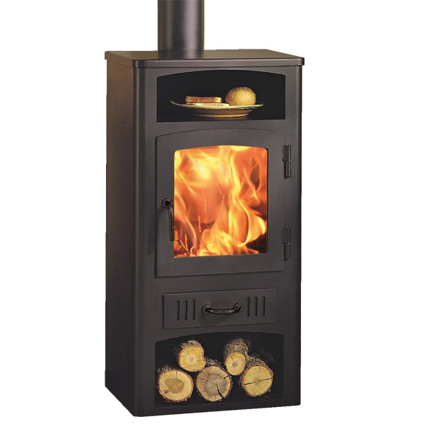Panadero Luis 9kw Wood Burning Stove and Warming Plate