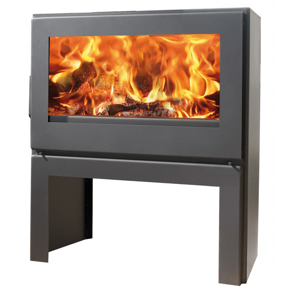 Panadero Nebraska - 8kw Contemporary Wood Burning Stove