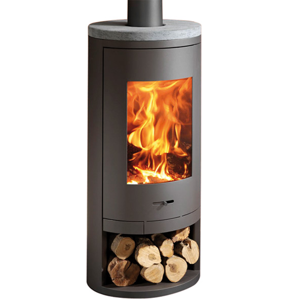 Panadero Sydney - 10kw Contemporary Wood Burning Stove