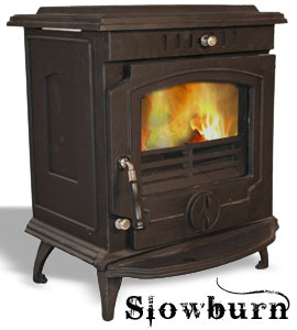 The Slowburn Olive 5kw Wood Burning Boiler Stove