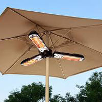 Electric Patio / Parasol Heaters