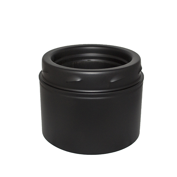 "5"" (125mm) Adapter to Cast Iron Pipe Sflue Black"