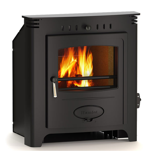 Hamlet Solution 7 - 7kw Inset Multifuel Wood Burning Stove