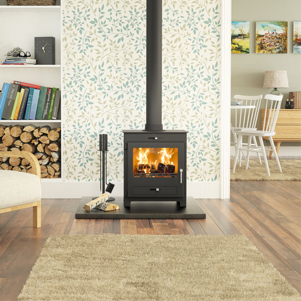 Broseley Silverdale 7kw Defra Approved Stove