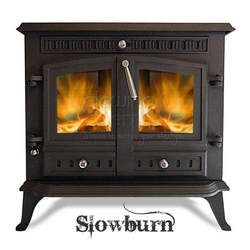 12kw cast iron wood stove multifuel burner slowburn z9