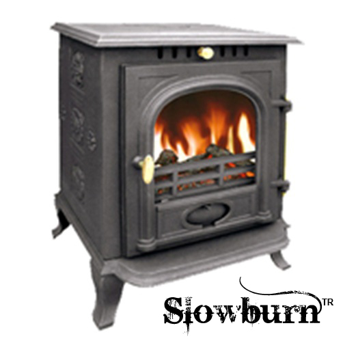 7.5kw Multifuel Stove / Cast Iron Wood Burner - Slowburn Z6