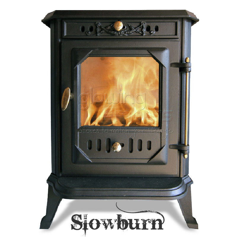 Wood Burning Stove 6kw Cast Iron - Slowburn Z1